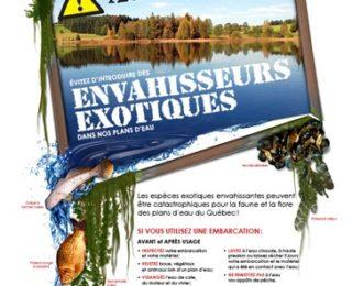 Conférence sur les espèces aquatiques exotiques envahissantes